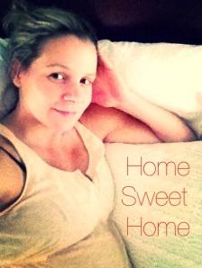 home sweet home selfie